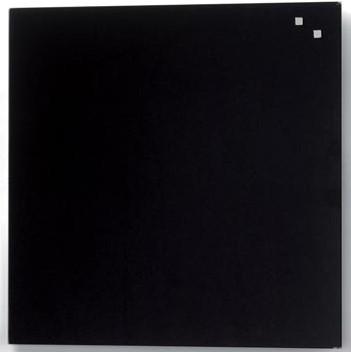 Magnetisch glasbord Naga zwart 45 x 45cm