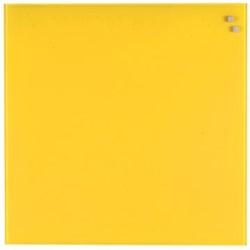 Naga magnetisch glasbord geel