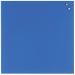 Naga magnetisch glasbord kobaltblauw