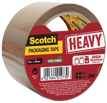 Scotch verpakkingsplakband 50 mm bruin