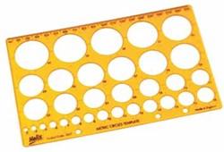Helix cirkelsjabloon van 3 tot 34mm