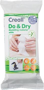 Creall Boetseerpasta Do & Dry wit, pak van 500 g