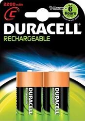 Duracell oplaadbare batterij Supreme HR14 C 2 stuks