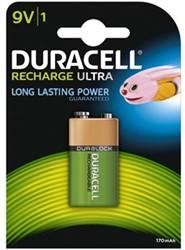 Duracell oplaadbare batterij Supreme HR9V 9V 1 stuk