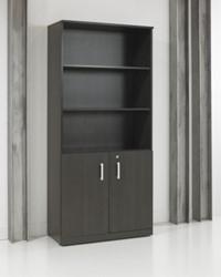 Half open draaideurkast XTR Darkwood 200 x 90 x 42cm
