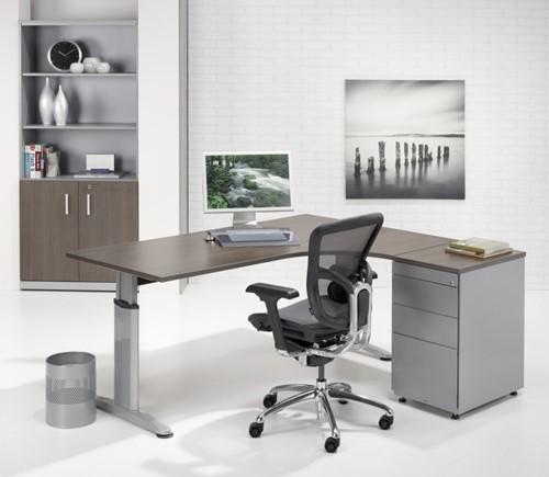 New Kantoor hoekbureau ProLine Style - 160x120cm - Links - Zwart &XJ53