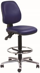 Hoge bureaustoel