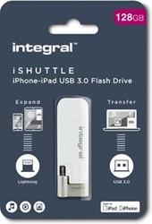 Integral USB3 iShuttle 128GB W