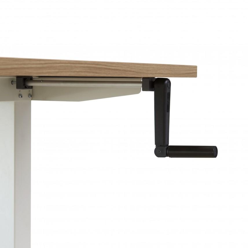 Verstelbaar bureau 160x80cm proline tendenz met slinger for Bureau pro victo