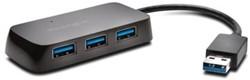 Kensington UH4000 USB hub 3.0 4-poorts