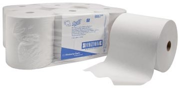 SCOTT® Handdoekrol handdoekrol Scott, 1-laags AIRLFEX, ft 304 x 20 cm