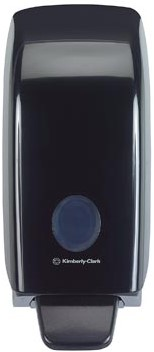 Kimberly Clark zeepdispenser Aquarius, zwart