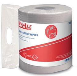 Wypall reinigingsdoeken L10, centerfeed, 1-laags, 525 doeken, wit