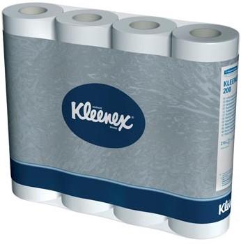 Toiletpapier 2-laags Kleenex 210 vellen per rol pak van 12 rollen