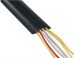 Kabelbrug Dataflex voor over de vloer zwart 1,5 meter