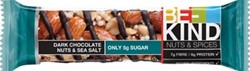 Be Kind Dark Chocolate Nuts & Sea Salt, reep van 40 g, pak van 12 stuks