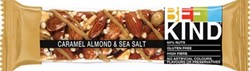 Be Kind Caramel Almond & Sea Salt, reep van 40 g, pak van 12 stuks