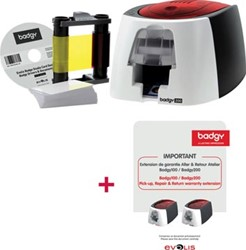 Actie Badgy printer (BDG200) + 1 x garantieuitbreiding (BD212PR) GRATIS