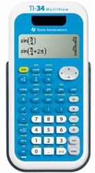 Texas wetenschappelijke rekenmachine TI-34 Multivi teacher pack