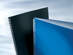 GBC Omslagen PVC Opaque blauw