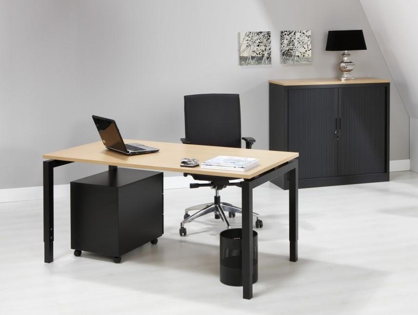 Kantoor bureau proline quad aluminium kersen bij pro office