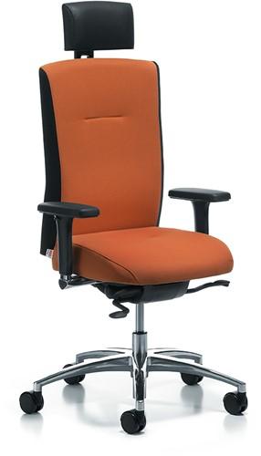 Bureaustoel Met Hoofdsteun.Kohl Mireo Ergonomische Bureaustoel Met Pocketvering Zitting Hawaii 310 Kobaltblauw
