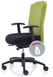 Bureaustoel voor zware mensen tot 150kg Köhl Selleo