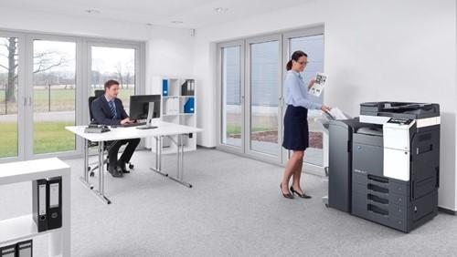 Konica Minolta Bizhub C227 digitaal kantoor