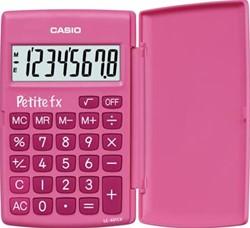 Casio zakrekenmachine Petite FX roze