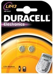 Duracell knoopcel batterij Alkaline Electronics LR43 15V