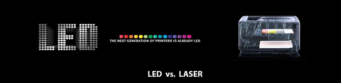 Verschil tussen een led en laserprinter