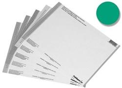 Elba etiketten voor hangmappen voor kasten nr. 8, groen