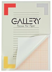 Gallery millimeterpapier ft 21 x 29,7 cm (A4)