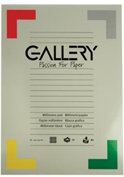 Gallery millimeterpapier ft 29,7 x 42 cm (A3)