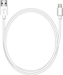 Oplaad- en gegevenskabel met Apple Lightning stekker, 1.0m, wit