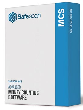 Safescan software MCS 6185, voor biljettelmachine 6185