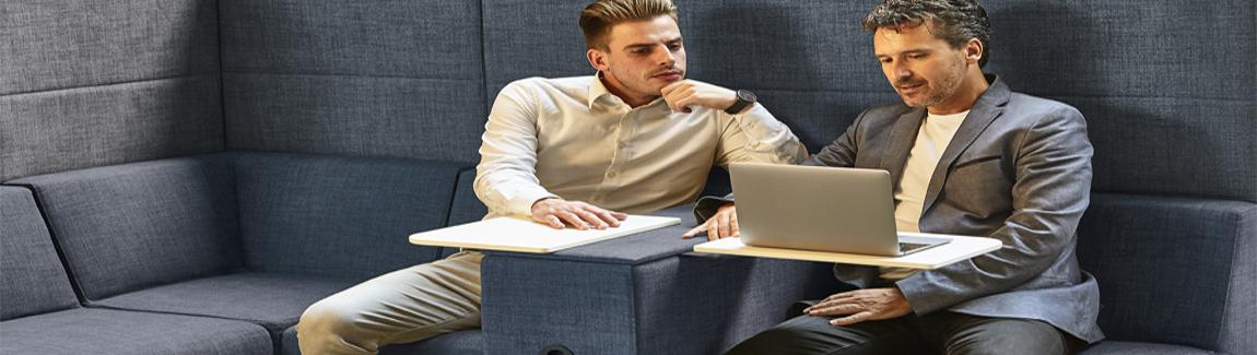 Markant Max Hybrid kantoormeubelen