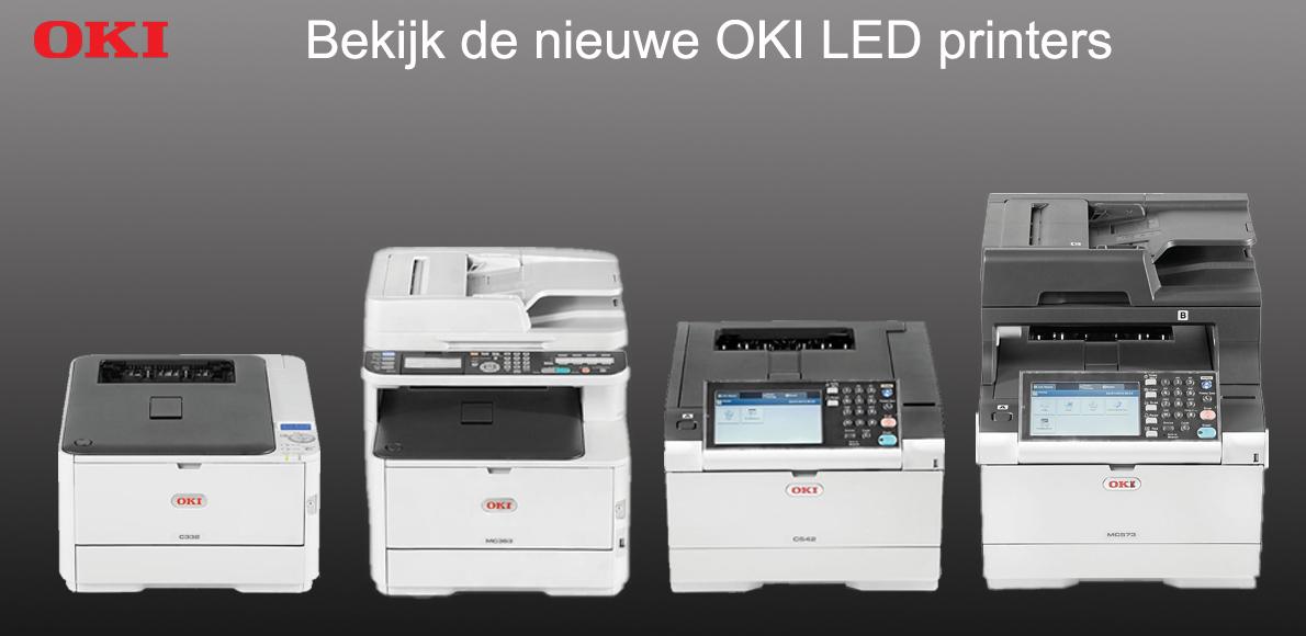 De nieuwe modellen OKI LED printers