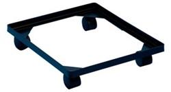Really Useful Box accessoires voor opbergdozen onderstel met wieltjes (diameter: 4,5 mm) in zwarte P...