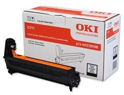 OKI C711 DRUM BLACK 20.000pages