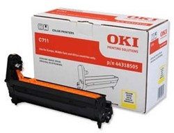 OKI C711 DRUM YELLOW 20.000pages