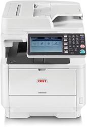 All in one laserprinter OKI MB562DNW met LED technologie en touchscreen
