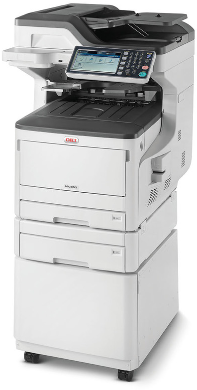 OKI ES8473dnct A3 all in one printer LED