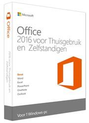 Microsoft Office 2016 voor Thuisgebruik en Zelfstandigen
