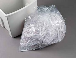 Papiervernietiger zakken