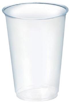 Huhtamaki beker transparant plastiek 200 ml 100 stuks
