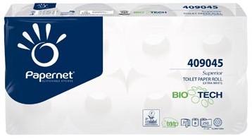 Toiletpapier chemisch toilet Papernet Bio Tech 3 laags pak 8 rollen