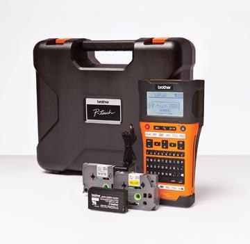 Brother beletteringssysteem PT-E550 met draagkoffer, 2 tapes, adapter en batterij