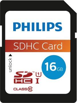 Philips sdhc card 16GB Class10