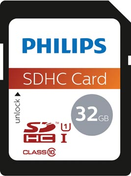 Philips sdhc card 32GB Class10